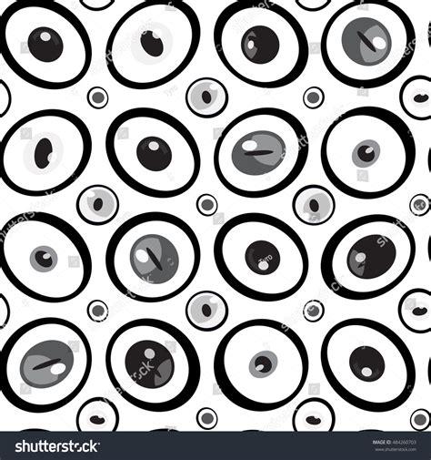 eye pattern website abstract black white eyes pebbles seamless stock vector