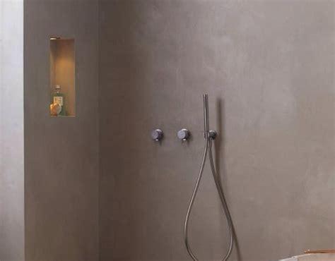badkamer wanden egaliseren de spaan showroom microcement badkamer wanden vloer