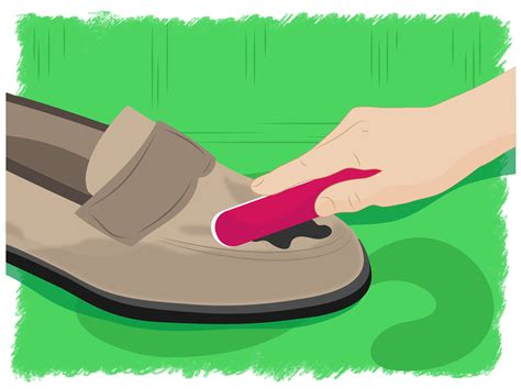 Cleaning A Suede by 4 Ways To Clean Suede Shoes Wikihow