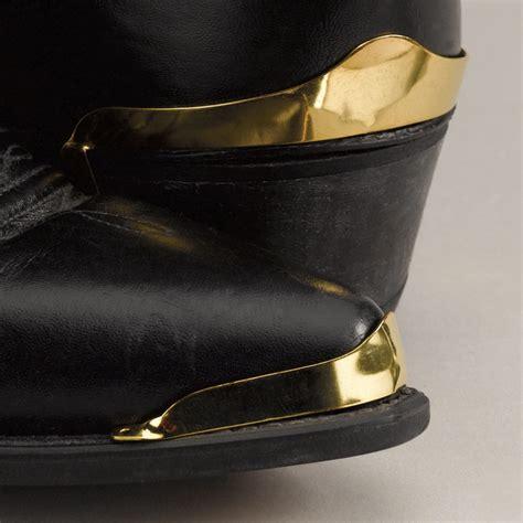 wx 07 heel guard plain brass plated