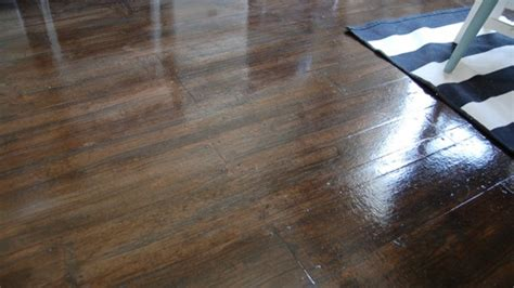Turn Brown Paper into a Realistic Looking Faux Wood Floor
