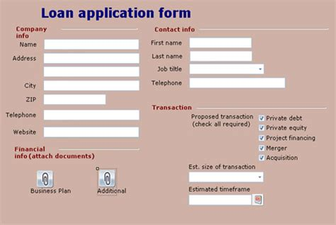 Loan Application Format To Bpm Project Exle Opentext Bpm Solutions