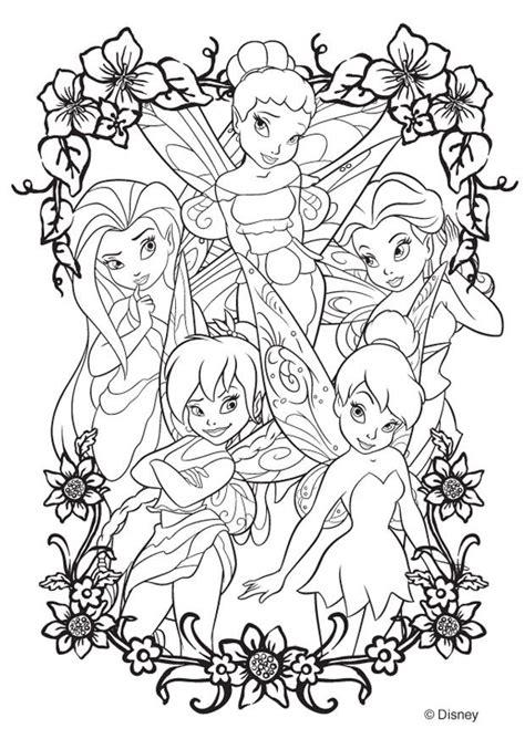 libro twilight garden coloring book kleurplaat disney fairies afb 20746