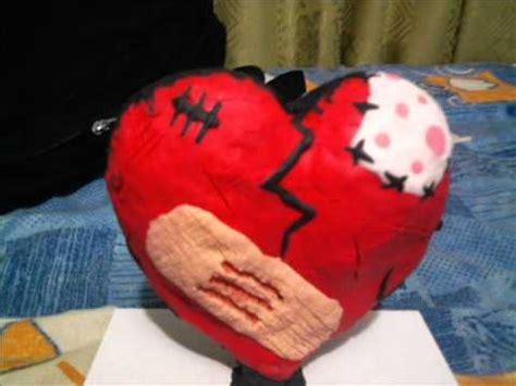 como hacer maquetas de corazon plastilina creasion corazon youtube