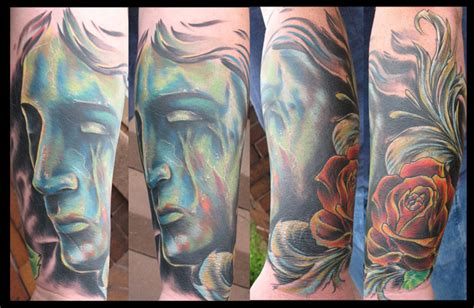 tattooed heart lafayette in hours kyle cotterman weathered statue