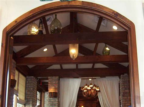 Roofing How To Install Faux Ceiling Beams Ceilings With False Ceiling Beams