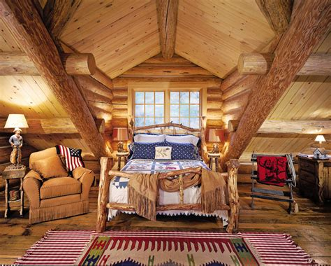 log cabin bedroom furniture rustic bedrooms design ideas canadian log homes