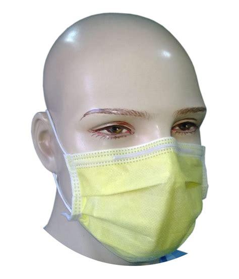 Masker Surgical Mask 1 filtra 4 ply ear loop surgical mask yellow bfe gt 98 buy filtra 4 ply ear loop surgical