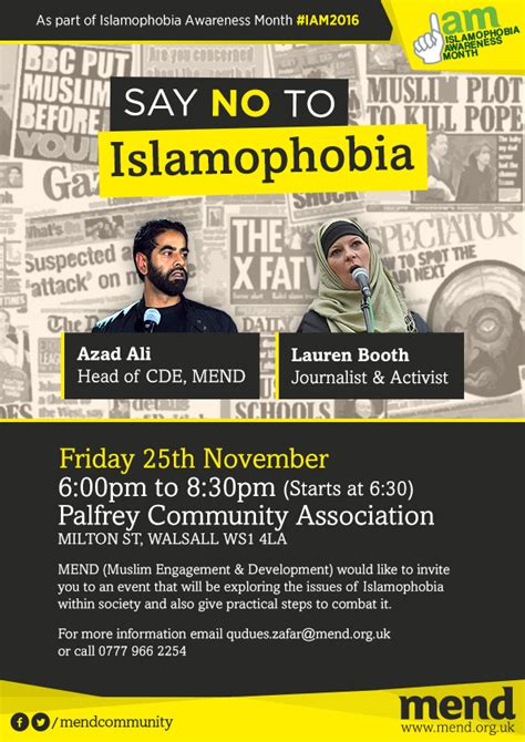 the islamophobia industry how the right manufactures hatred of muslims books say no to islamophobia walsall muslim engagement and