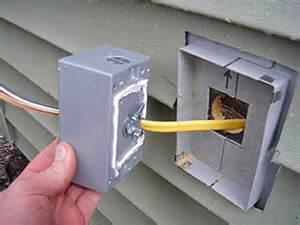 Installing New Kitchen Faucet installing a vinyl siding j block for an outdoor