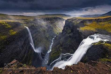 Landscape Photography Reddit Haifoss Iceland 2048 X 1366 By Mohammed Alsultan X