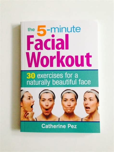 Beauty Book The 5 Minute Facial Workout Kimberly Fisher