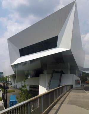 Porsche Museum Architekt by Stuttgart Architekturfotografie Archinoah Data