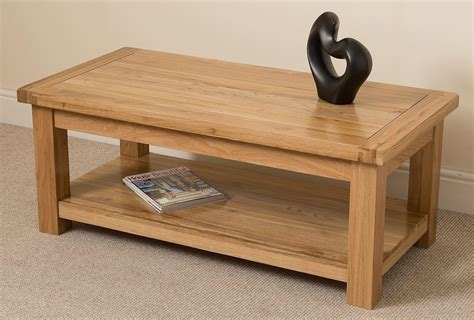solid oak coffee table what of floor tiles combined with an oak coffee table