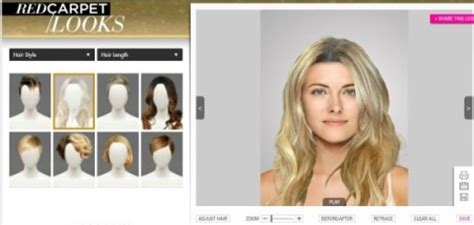 Free Hairstyle Makeover by 5 Free Websites To Try On Hairstyles