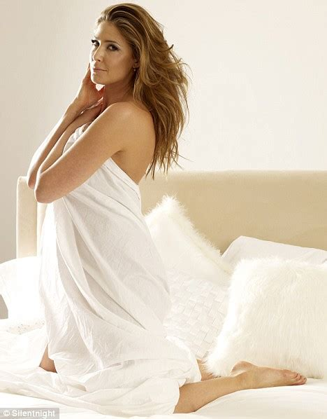 woman in bed come to bed lisa snowdon wraps herself in a crisp white