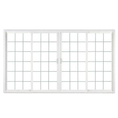 custom interior doors home depot simonton 4 panel white contemporary vinyl sliding patio