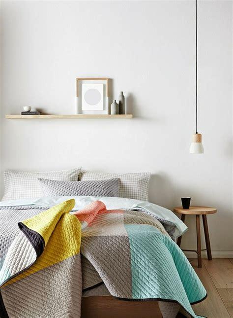 weiß und elfenbein schlafzimmer muster idee bettw 228 sche