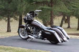 saddlemen road sofa streetglide road king street glide custom stretched rear