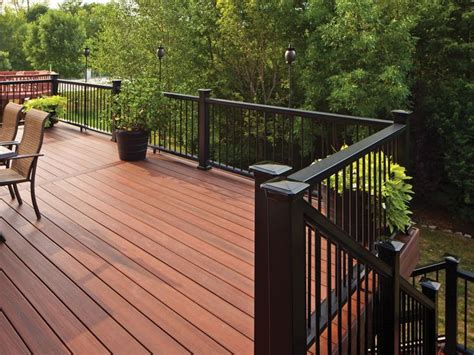 Composite Balusters For Decks Top 11 Ideas About Wood Ceiling On Metal
