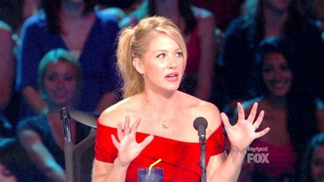 christina dancing on ice hairstyle christina applegate cocktail dress christina applegate