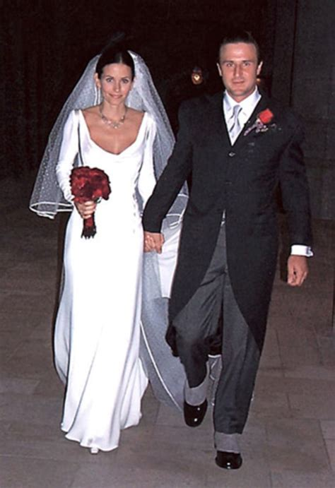 David Arquette Confirms Up Anistons Marriage Mound by Courteney Cox And David Arquette Stunning Wedding