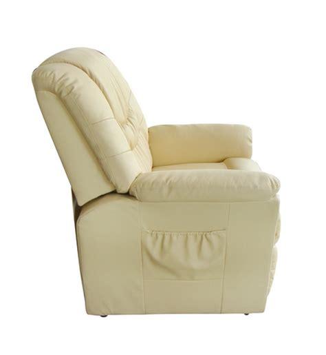 fauteuil massant electrique fauteuil massant et relaxant en cuir avec t 233 l 233 commande
