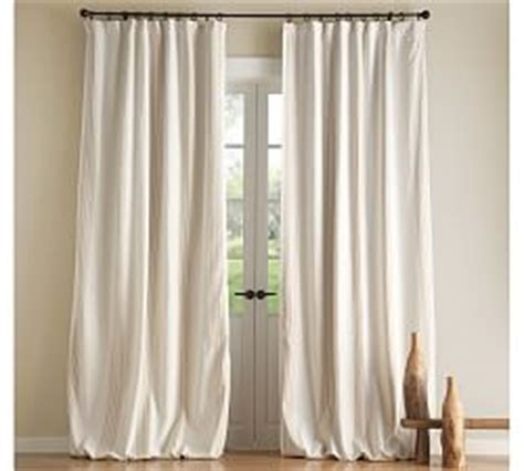 jamie curtain blackout drape liner pottery barn