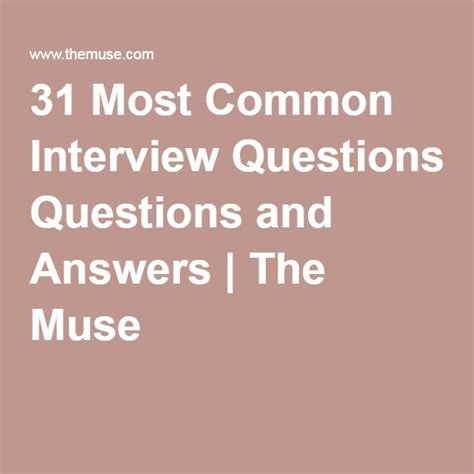 9 Common Questions And Answers by 9 Best Images About Best Resume Templates Sles