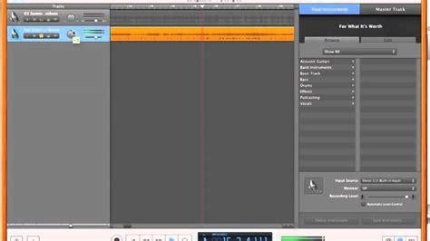 Garageband Recording Vocals How To Remove Vocals Using Garage Band Pt 2 3 Remove