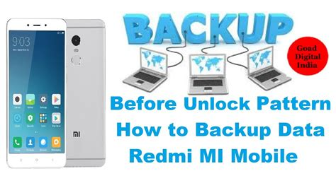 pattern unlock backup pin phim22 video how to backup data lock redmi mobile before