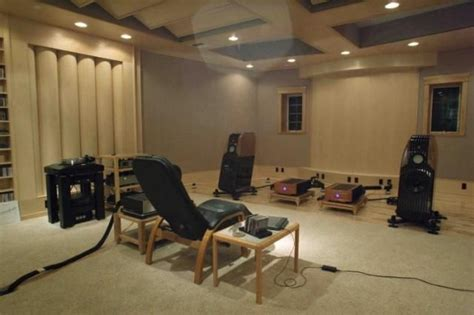 Listening Room by Best Audiophile Listening Room Studio Design Gallery