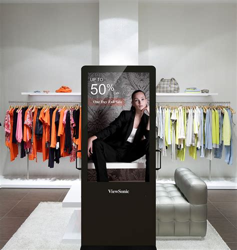 shopping digital viewsonic commercial displays