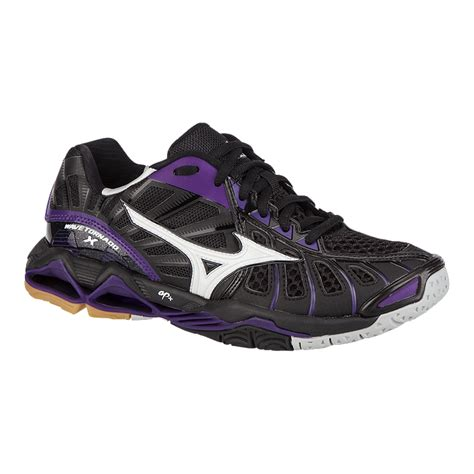 sport chek cycling shoes mizuno s wave tornado x indoor court shoes black