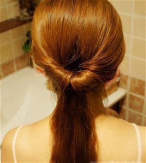 Hair Topsy Alat Sanggul Rambut how to diy easy twisted hair bun hairstyle