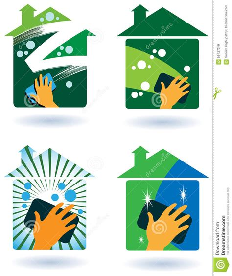House Cleaning Service Stock Vector Image