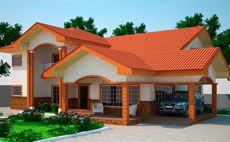 home design for bedroom house plans ghana kantana 5 bedroom house plan in ghana