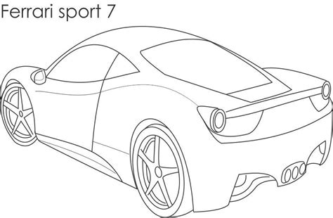 ferrari coloring pages to download and print for free
