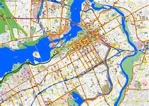 city maps ottawa