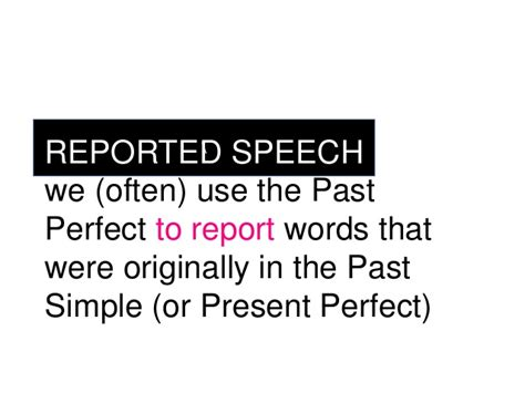 Direct Speech In Narrative Essay by Narrative Tenses