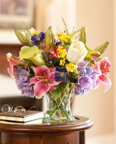 Home Decor Silk Floral Arrangement Floral Decor Tropical Decorate The House With Artificial Flowers For Your Home Inspiration Calla Lilies Hydrangea