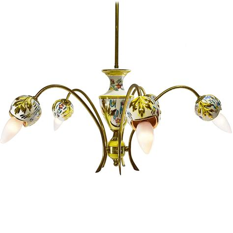 italian porcelain chandelier vintage info all about