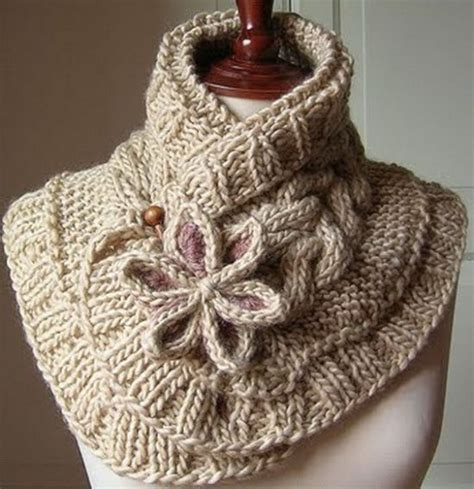 moon knitting pattern knitted moon flower scarf the whoot