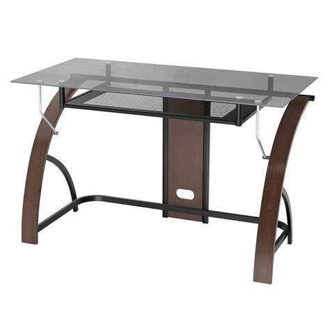 z line glass desk upc 631680900429 z line claremont wood and glass desk