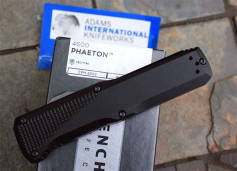 benchmade 4600 review benchmade phaeton model 4600 front opener auto in out