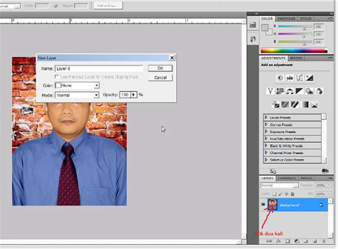 tutorial photoshop edit foto bahasa indonesia cara edit pas foto menggunakan photoshop tutorial