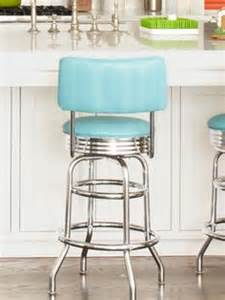 blue bar stools kitchen furniture thousands of images about 1950s kitchen on