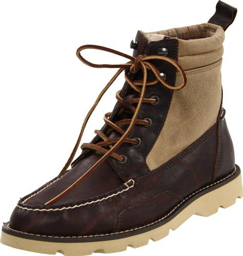 sperry top sider boots mens sperry top sider mens shipyard rigger boot in brown for