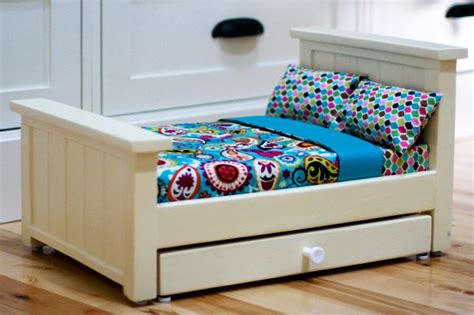 ana white build a doll farmhouse bed free and easy diy ana white farmhouse doll beds diy projects