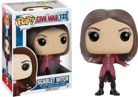 Funko Pop Captain America Civil War Scarlet Witch pop marvel captain america civil war scarlet witch 849803072315 item barnes noble 174